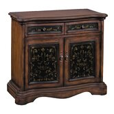 European Manor Two Door Storage Cabinet
