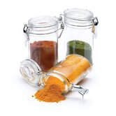 0.1 Litre Mini Clip Top Glass Jars (set of 12)