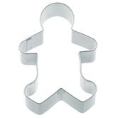 Cookie Cutter with Gingerbread Boy Shaped Set of 12