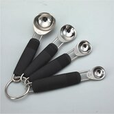 Deluxe 4 Piece Measuring Spoon Set