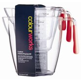 Colourworks Three Pieces Measuring Jug Set in Red