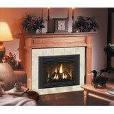 Deluxe Claremont Flush Fireplace Mantel