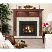 Deluxe Wellington Flush Fireplace Mantel