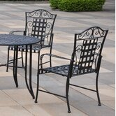 Mandalay 5-Piece Outdoor Iron Patio Dining Set