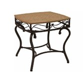 Valencia Wicker Resin Patio Side Table