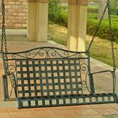 Iron Patio Porch Swing