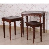 Victorian Nesting Tables (Set of 3)