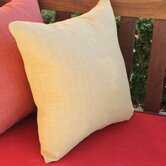 Outdoor Solid Throw Pillow (Set of 2)