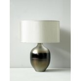 Rubianne Table Lamp in Mocha Horizon with Pebble Shade