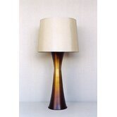 Skyscraper Table Lamp in Bronze Fade with Pebble Shade