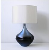 Kiss Table Lamp in Ice Horizon with Pebble Shade