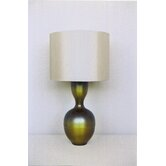 Ruby Table Lamp in Olive Burst with Pebble Shade