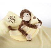 Plush &quot;Monkey Magoo and Blankie Too!&quot; Gift Set