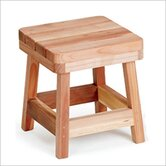 Redwood Stool