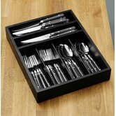 36 Piece Cafe Cutlery Set with Tray