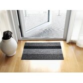 Electric Stripe Shag Mat