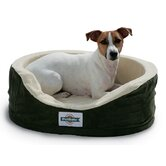 Heated Wellness Sleeper Dog Bed with Orthopedic Foam Fill