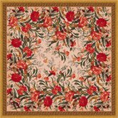 Pastiche Barrington Court Floral Curry Rug
