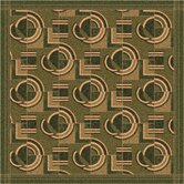Pastiche Modernes Deep Olive Rug