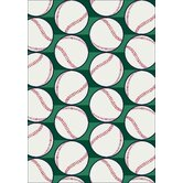 My Team Sport Swing Batter Novelty Rug