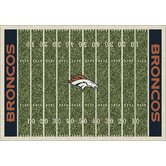 NFL Homefield Football Novelty Rug