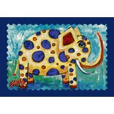 Don Sawyer Elegant Elephant Kids Rug