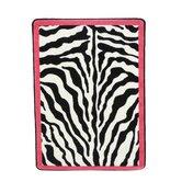 Black & White Zebra Glam Pink Passion Rug