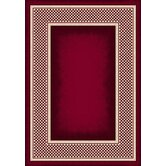 Innovation Old Gingham Ruby Rug