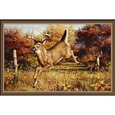 Hautman Leaping Deer Mat