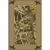Realtree Max 4 Solid Border Novelty Rug