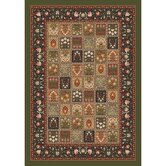 Pastiche Kashmiran Pristina Deep Olive Rug