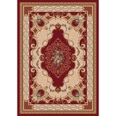 Pastiche Kashmiran Valette Dark Red Rug