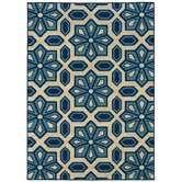 Caspian Ivory/Blue Rug