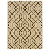 Montego Ivory/Brown Rug