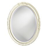 Queen Ann Wall Mirror in Antique White