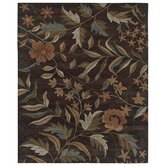 Pandora Brown Floral Rug