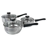 Three Saucepan Set