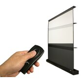 "MaxWhite Kestrel Series Floor Electric Projection Screen - 92"" Diagonal"
