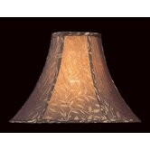 Woven Jacquard Lamp Shade with Vine Print