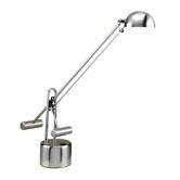 Halotech Counterbalance  Desk Lamp in Polished Steel