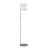 Velia Floor Lamp in Polished Steel