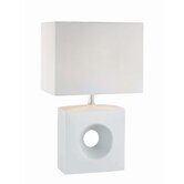 Kub  Table Lamp in White