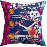 Mexico Cotton Carina Print Pillow