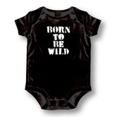 Born To Be Wild Baby Romper