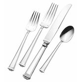 Pantheon 4 Piece Dinner Flatware Set