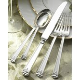 Trianon 5 Piece Flatware Set with Place Spoon