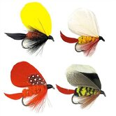 Fish Flies Assorted 16 oz. Tumbler (Set of 4)