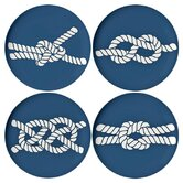 Scrimshaw Coaster Dish (Set of 4)