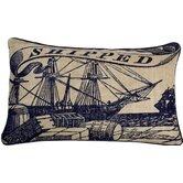 Shipped Pillow in Ink