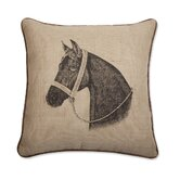 Horse 18&quot; x 18&quot; Pillow in Java